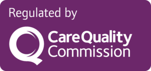 Regulated by Care Quality Commission logo
