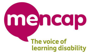 Mencap logo, the voice of learning disability