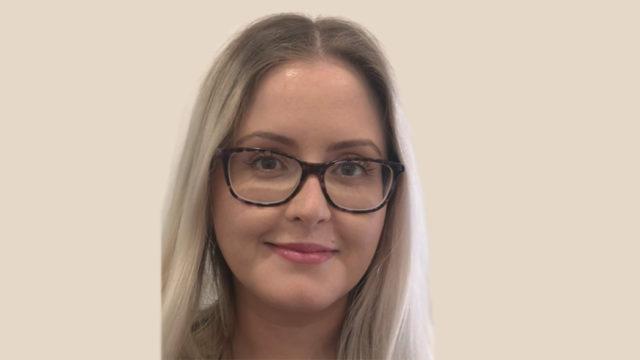 Headshot of Speech and Language Therapist Gemma Clark smiling at the camera